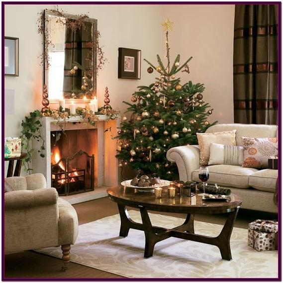 Ideas For Decorating Your Living Room For Christmas