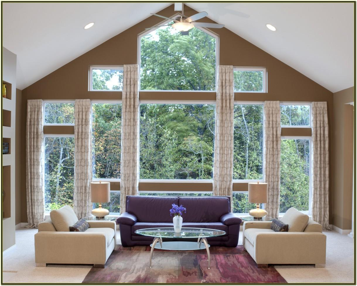 Ideas For Large Living Room Windows