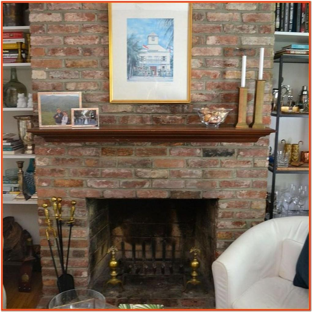 Ideas For Living Room With Brick Fireplace