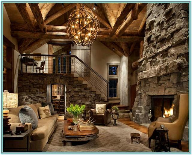 Ideas For Rustic Decorating Living Room