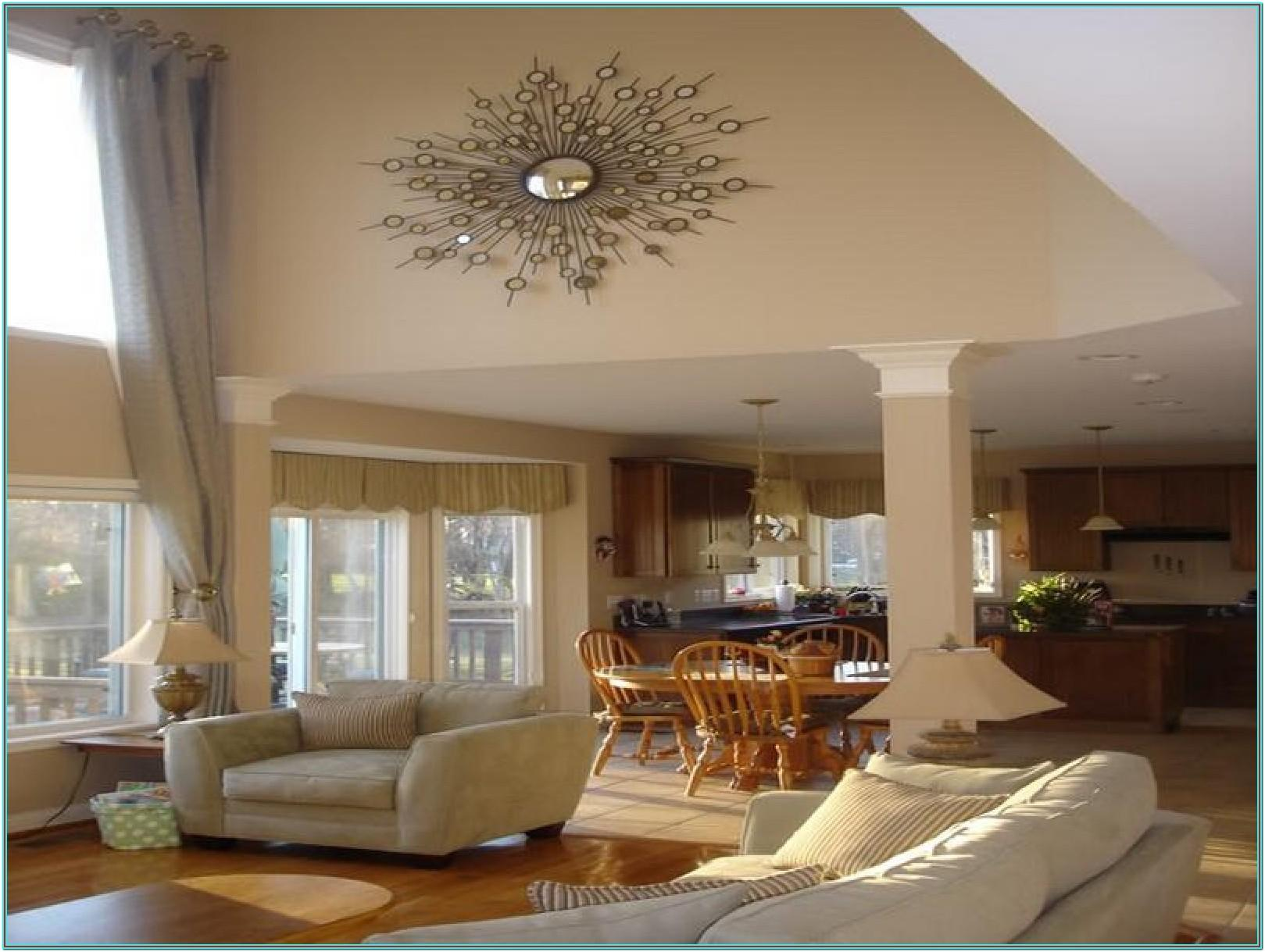 Ideas To Decorate A Large Living Room Wall