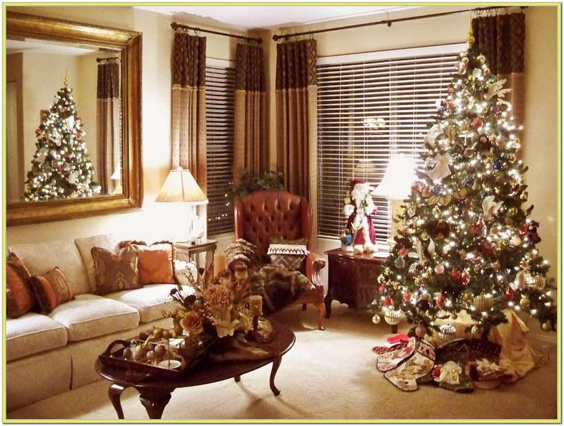 Images Of Christmas Decorated Living Rooms