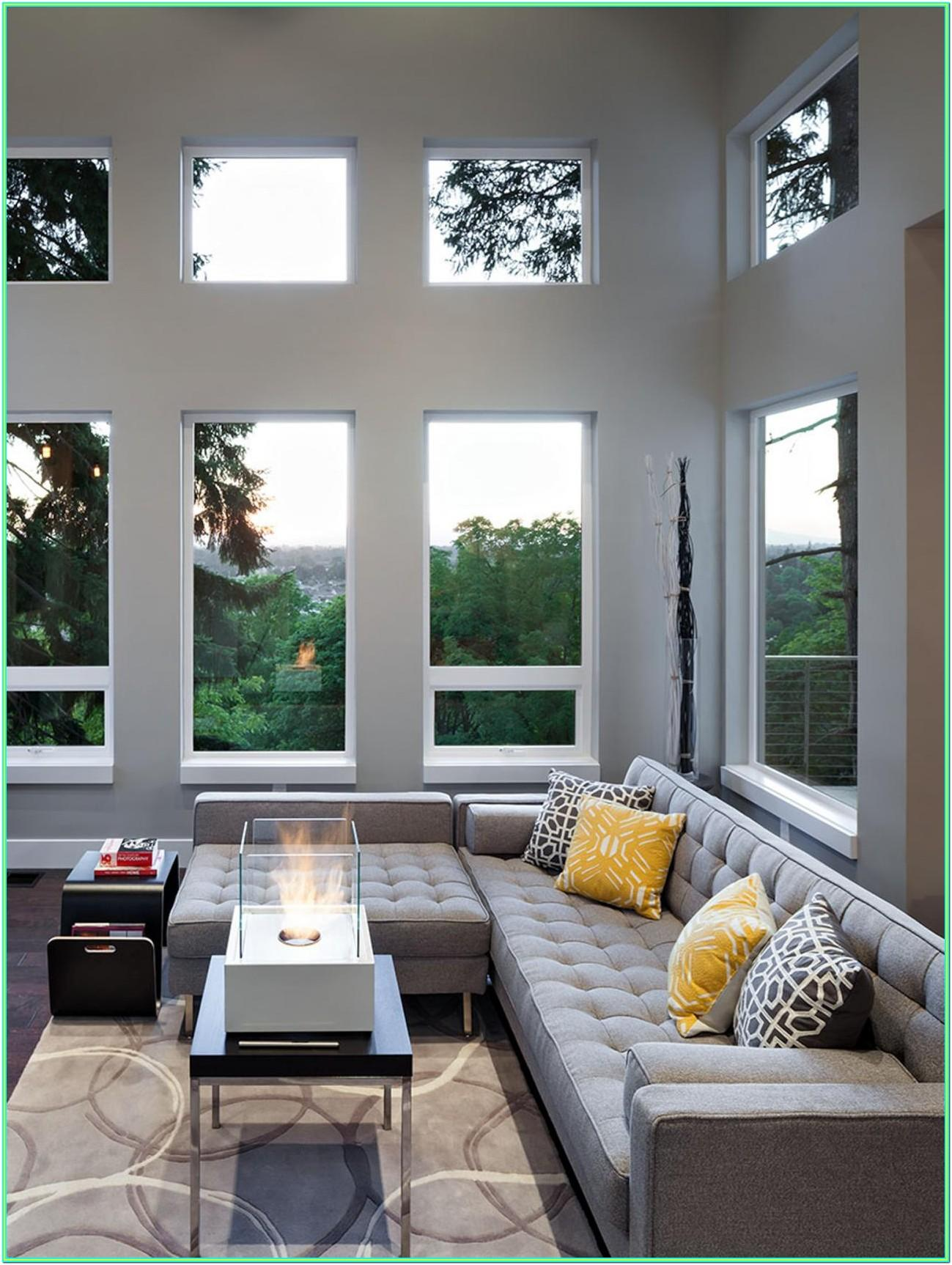 Images Of Living Rooms With Gray Sofas