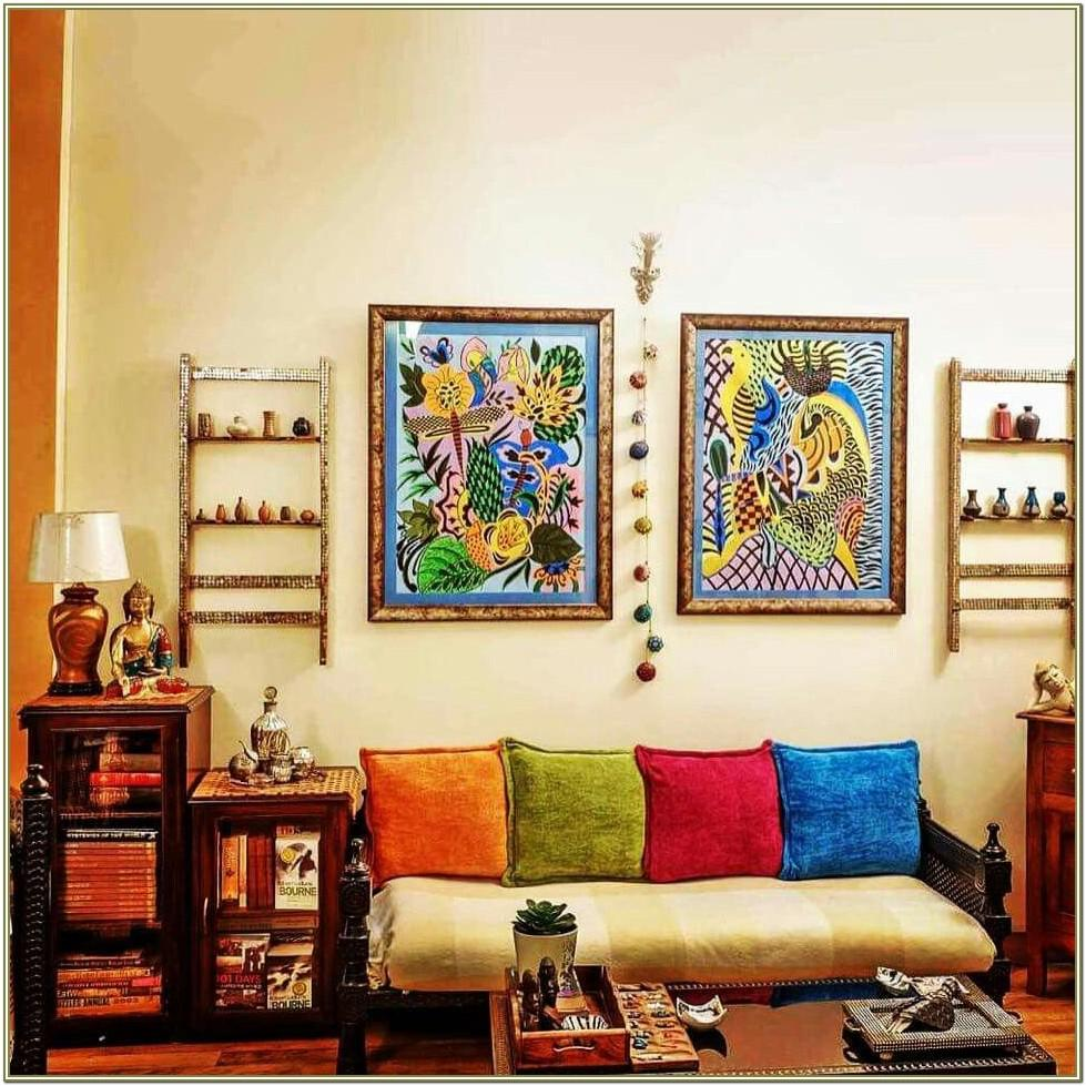 Indian Interior Decoration For Living Room