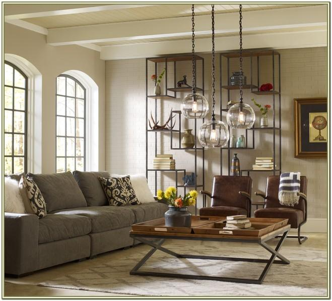 Industrial Style Living Room Decor