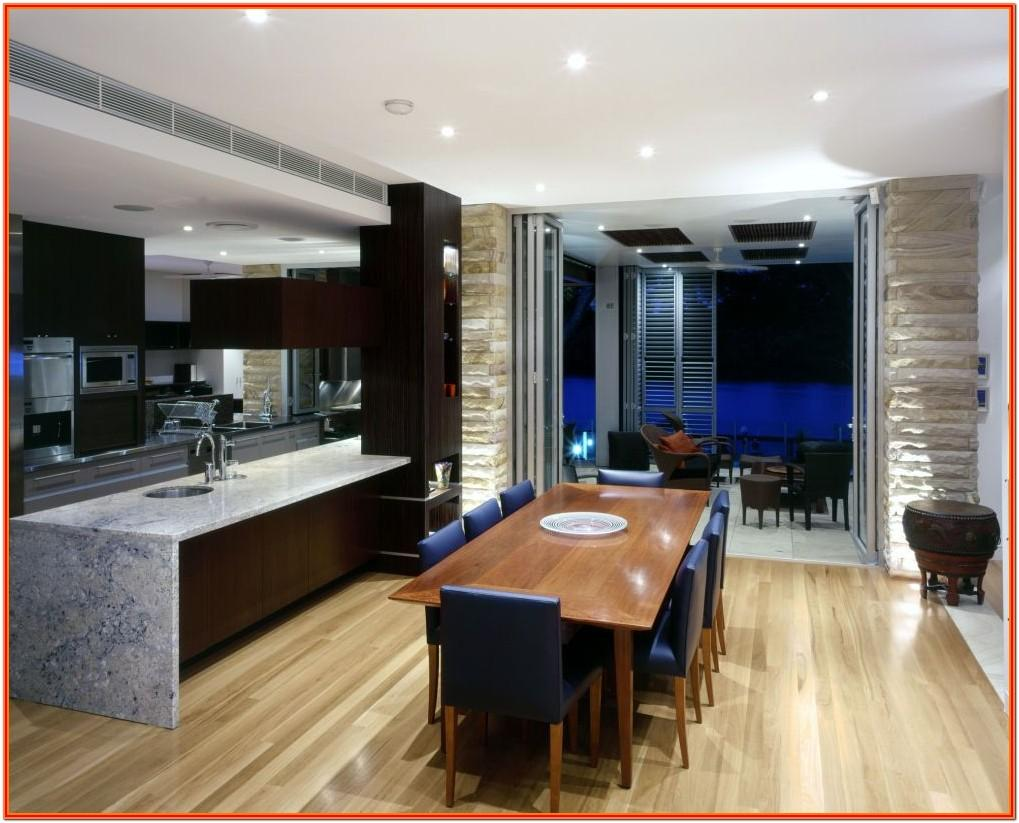 Interior Design For Living Room And Dining Room And Kitchen