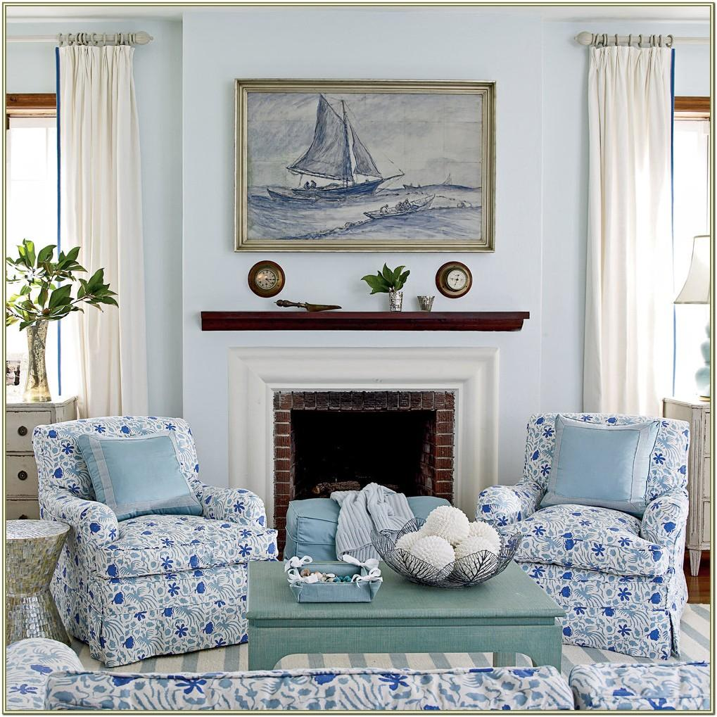 Island Inspited Living Room Decor