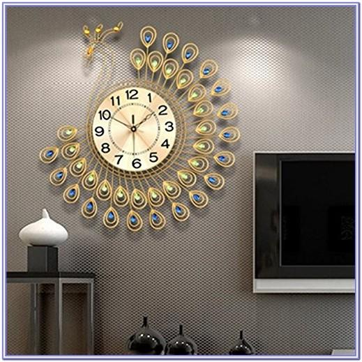 Large Decorative Living Room Wall Clock