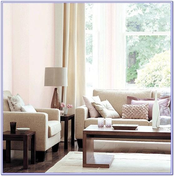 Light Blue And Pink Decoration Living Room