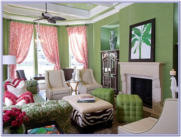 Lime Green Living Room Decorating Ideas