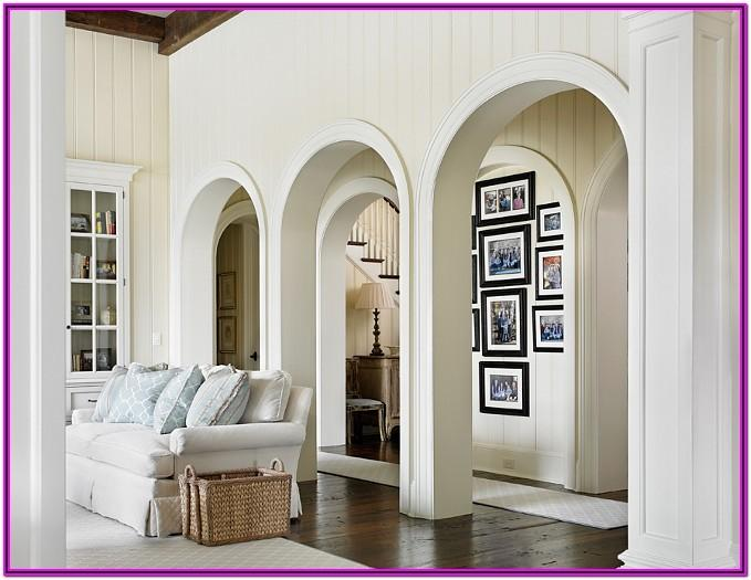 Living Room Arch Decorations