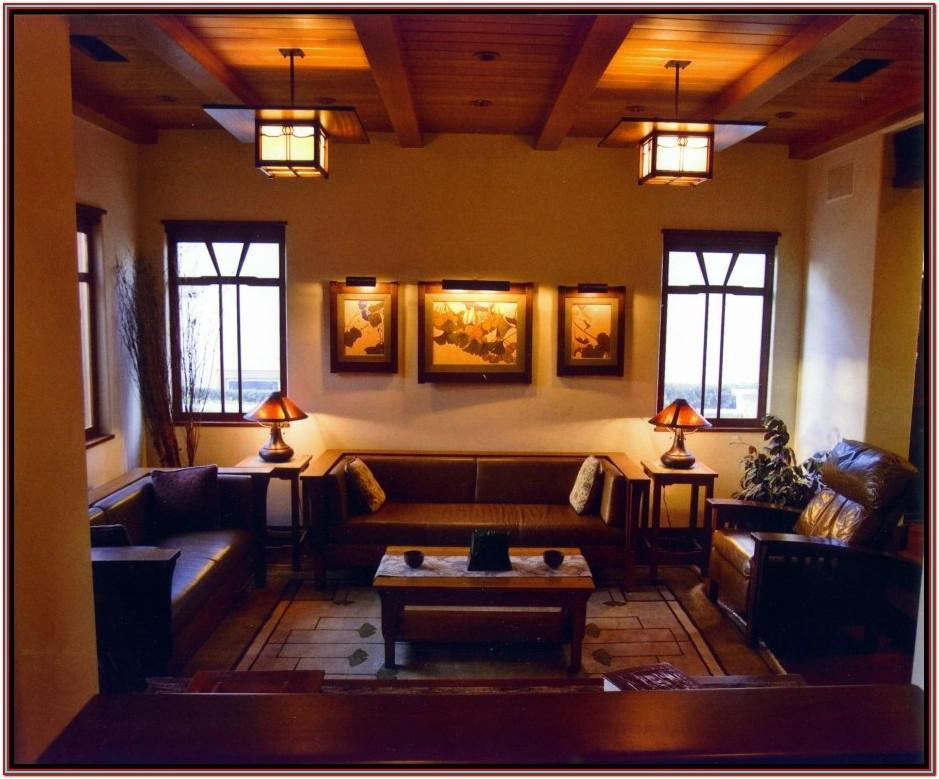 Living Room Arts And Crafts Decor