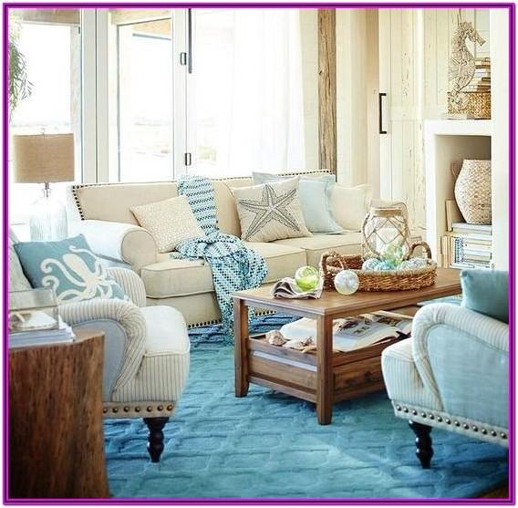 Living Room Beach House Decorating Ideas