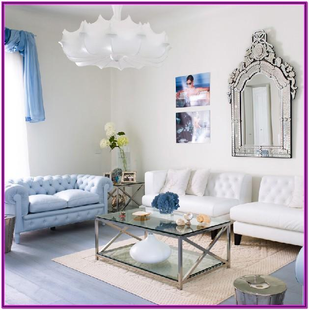 Living Room Blue And White Decorating Ideas