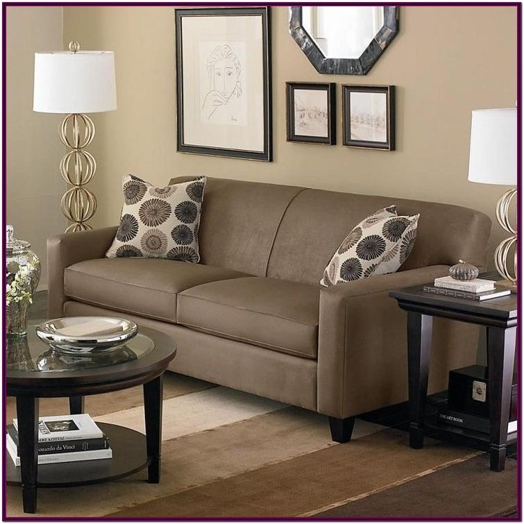 Living Room Brown Furniture Decorating Ideas