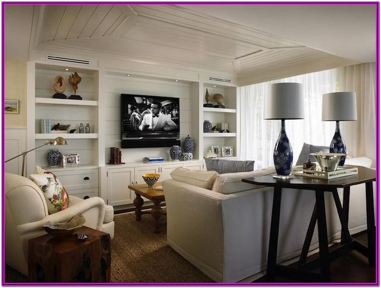 Living Room Built In Decorating Ideas