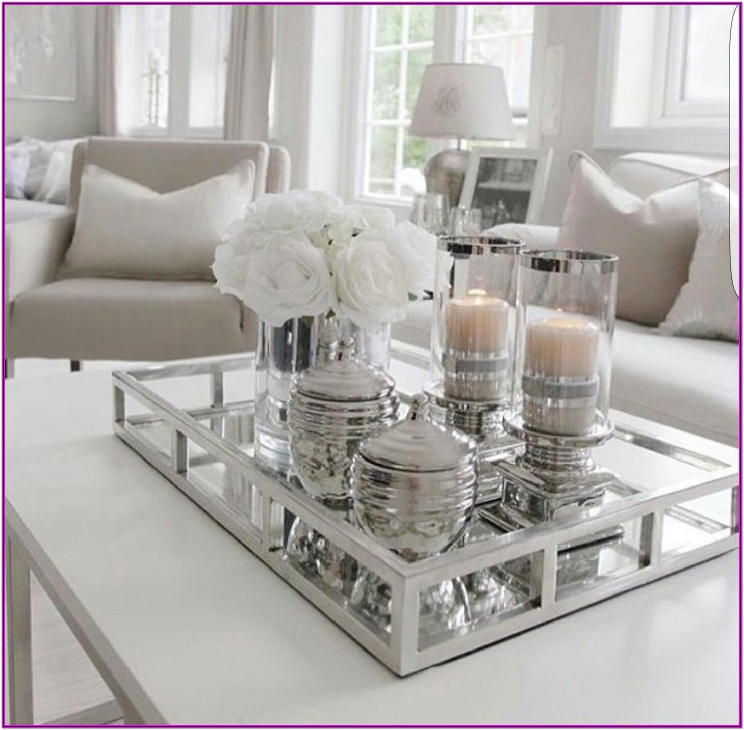 Living Room Centre Table Decoration Ideas