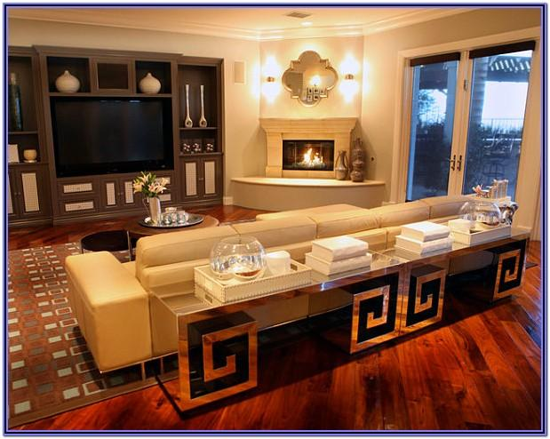 Living Room Corner Fireplace Decorating Ideas