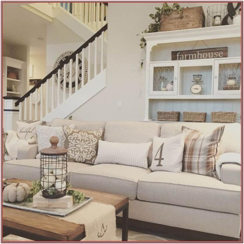 Living Room Decor Farmhouse Style