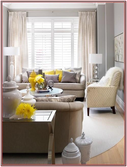 Living Room Decor For Grey Walls