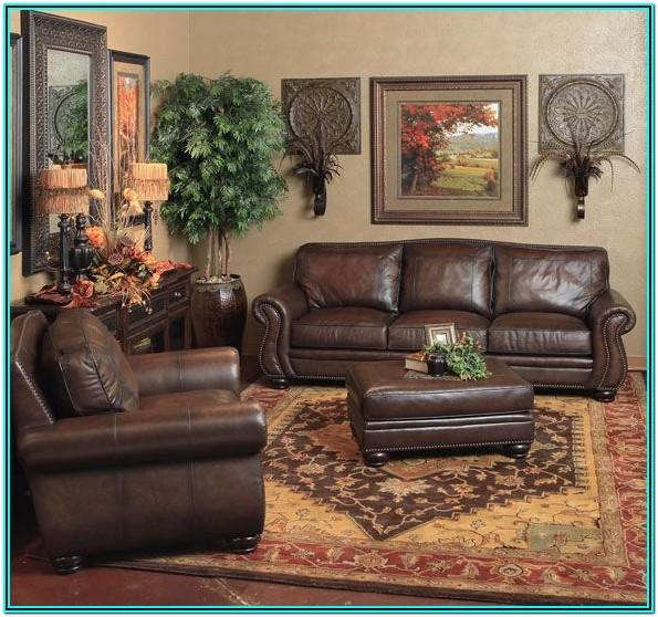 Living Room Decor Ideas With Brown Leather Furniture