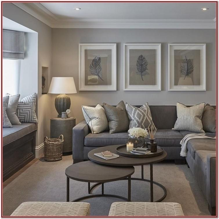 Living Room Decor Ideas With Grey Walls