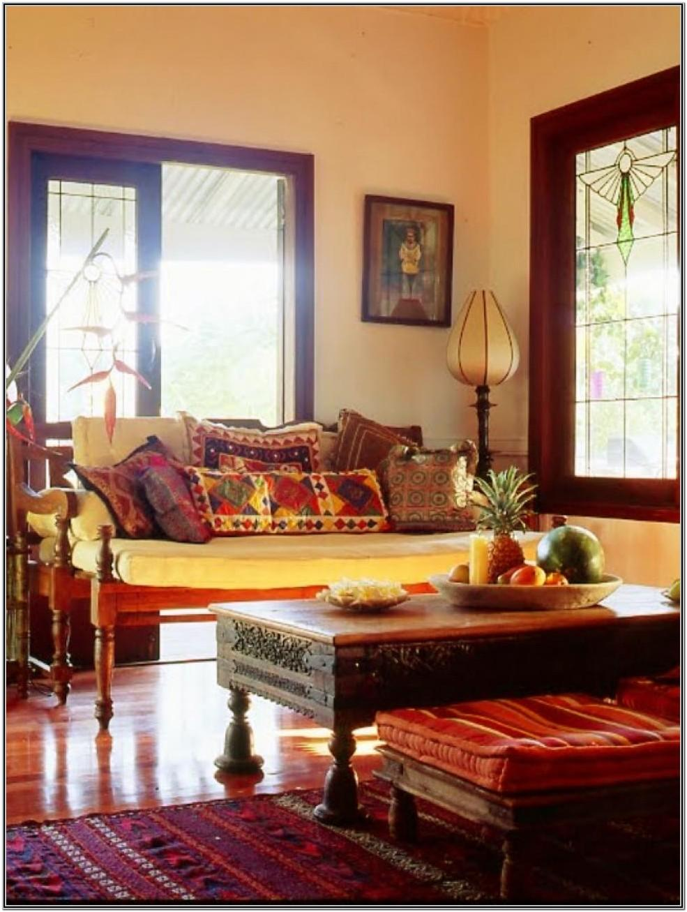 Living Room Decor Indian Style