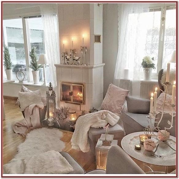 Living Room Decor Rose Gold