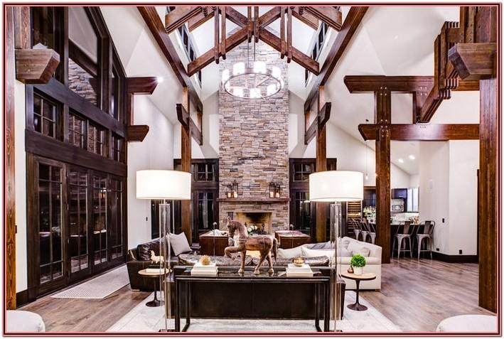 Living Room Decor Rustic And Industry