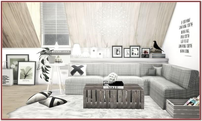 Living Room Decor Sims 4 Cc