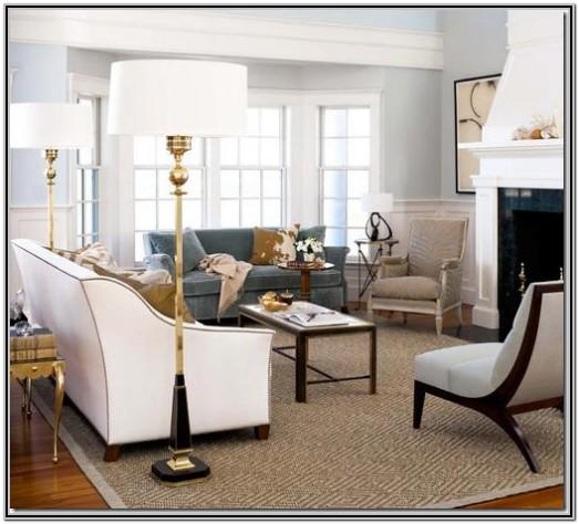 Living Room Decor With Bay Window