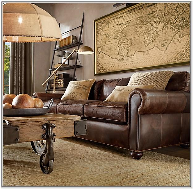 Living Room Decor With Lancaster Sofa