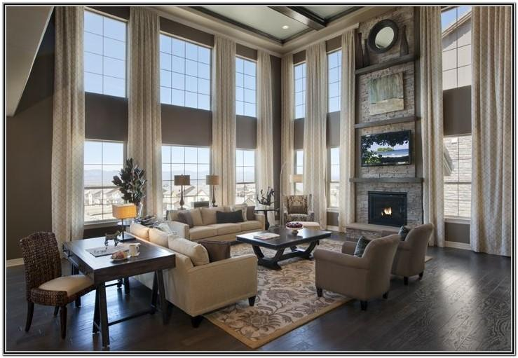 Living Room Decor With Multiple Windows
