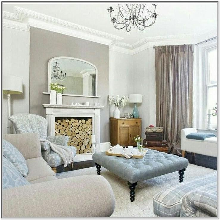 Living Room Decor With Taupe Sofa