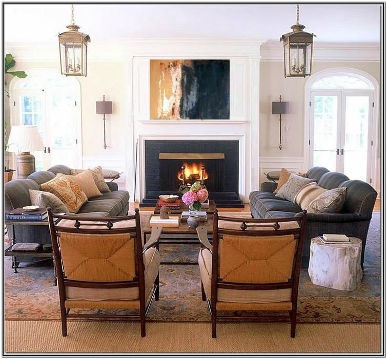 Living Room Decor With Two Recliners