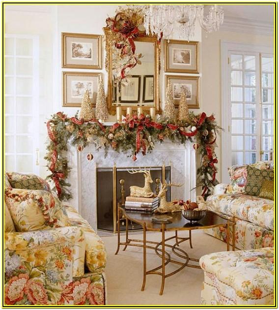 Living Room Decorating Ideas For Christmas