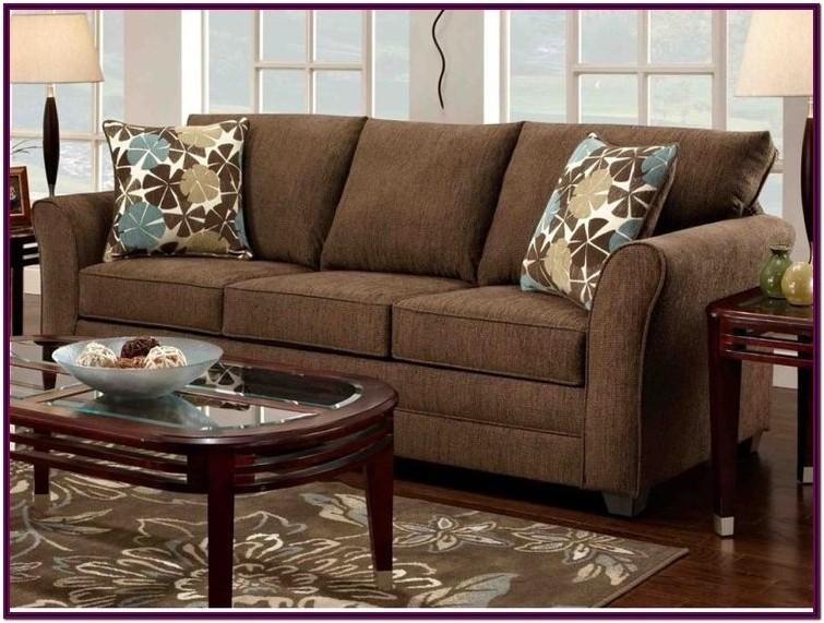 Living Room Decorating Ideas With Brown Couch