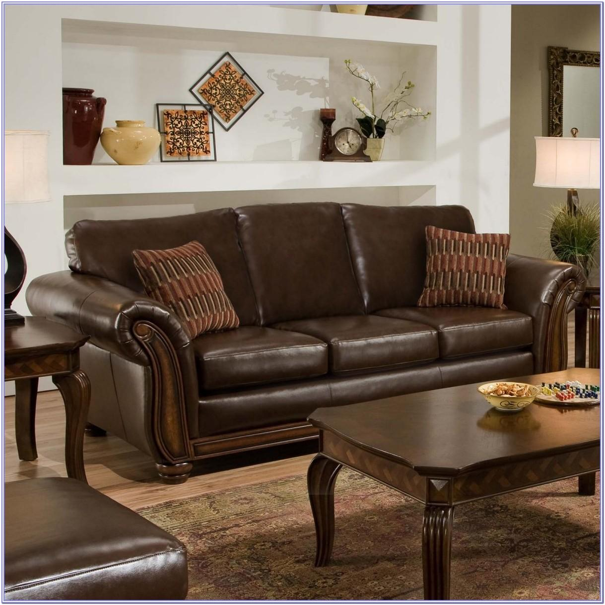 Living Room Decorating With Leather Furniture