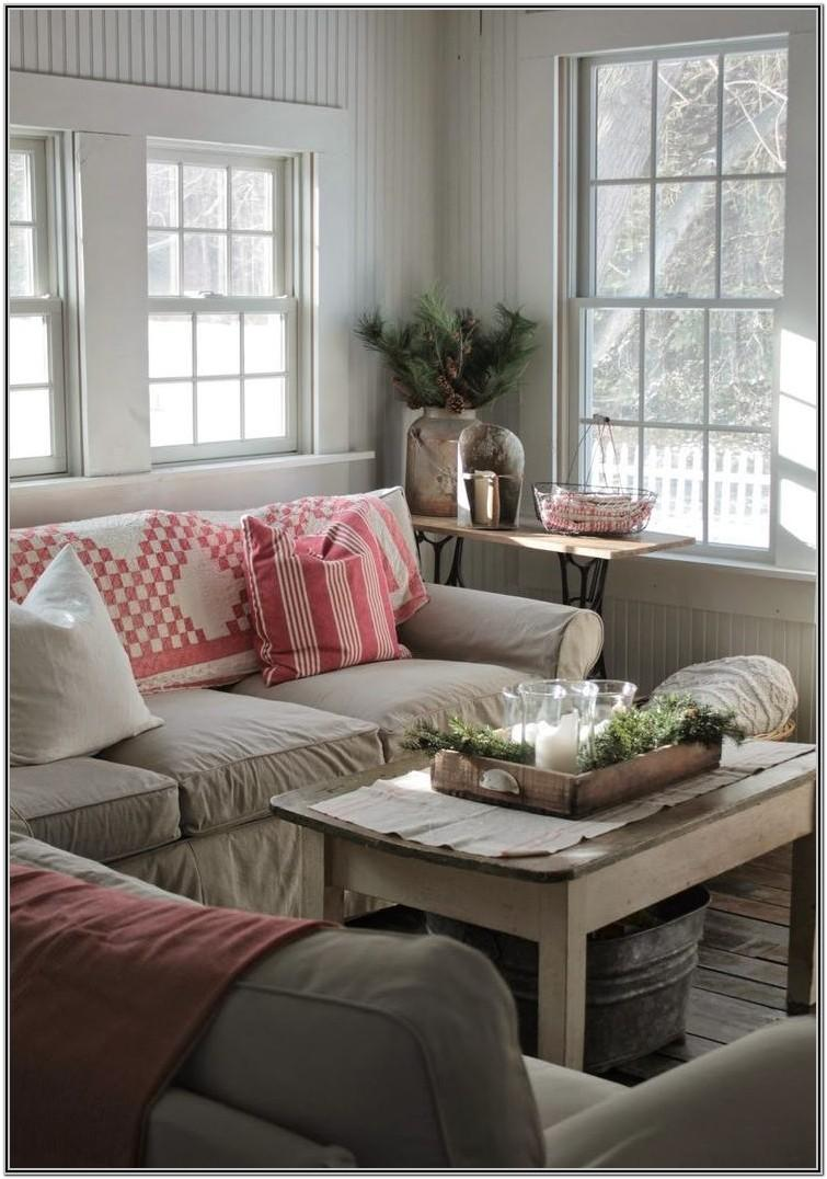 Living Room Farmhouse Style Decor