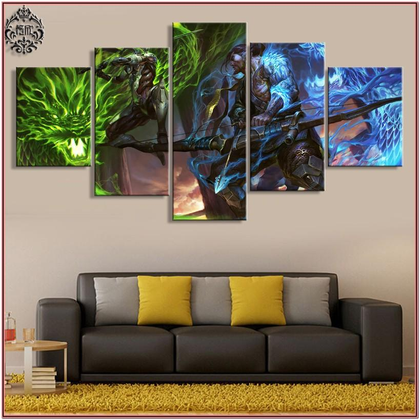 Living Room Wall Decor Pictures