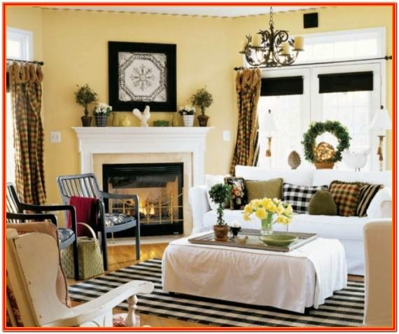 Modern Country Style Living Room Ideas