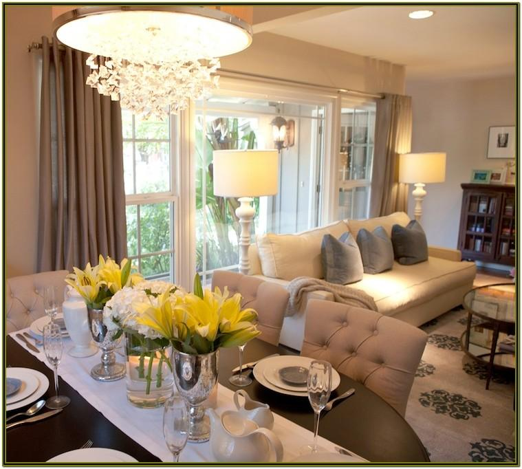 Open Living Room And Dining Room Decorating Ideas'