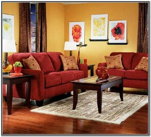Red And Yellow Living Room Decor