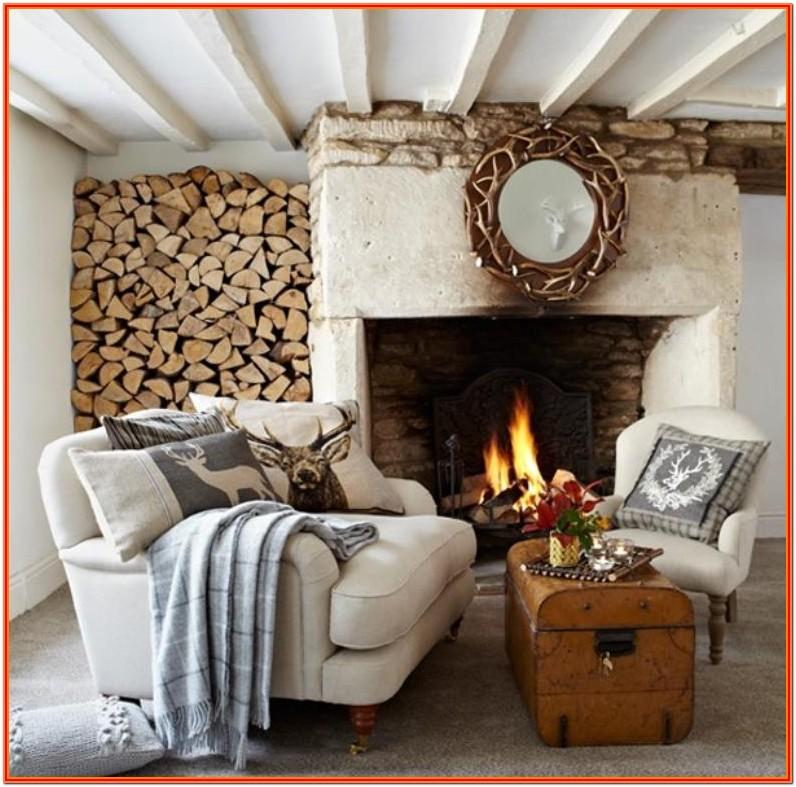 Rustic Country Style Living Room Ideas