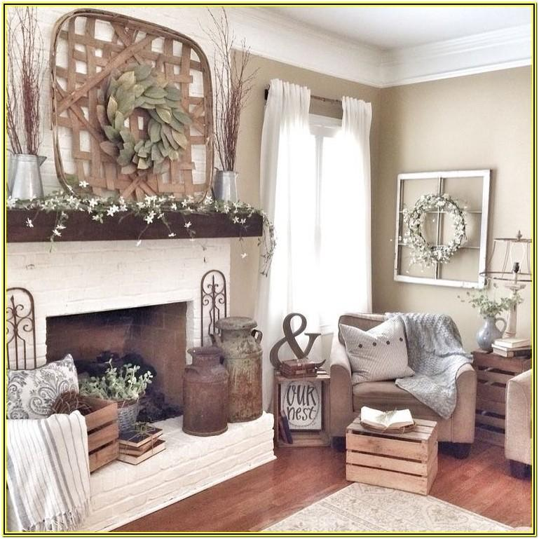 Simple Living Room Decoration Pictures
