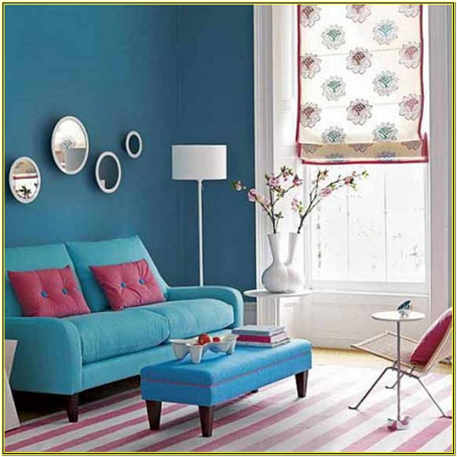 Teal And Brown Living Room Decorating Ideas