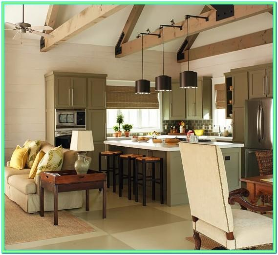 Tips For Decorating Open Kitchen And Living Room