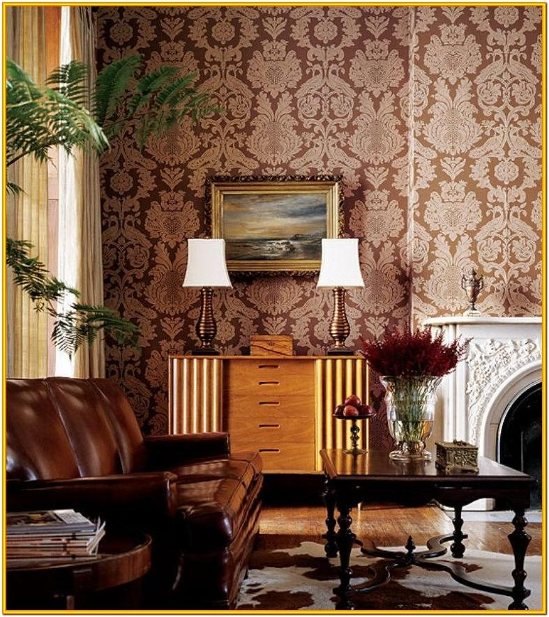 Wallpaper Decoration Ideas For Living Room