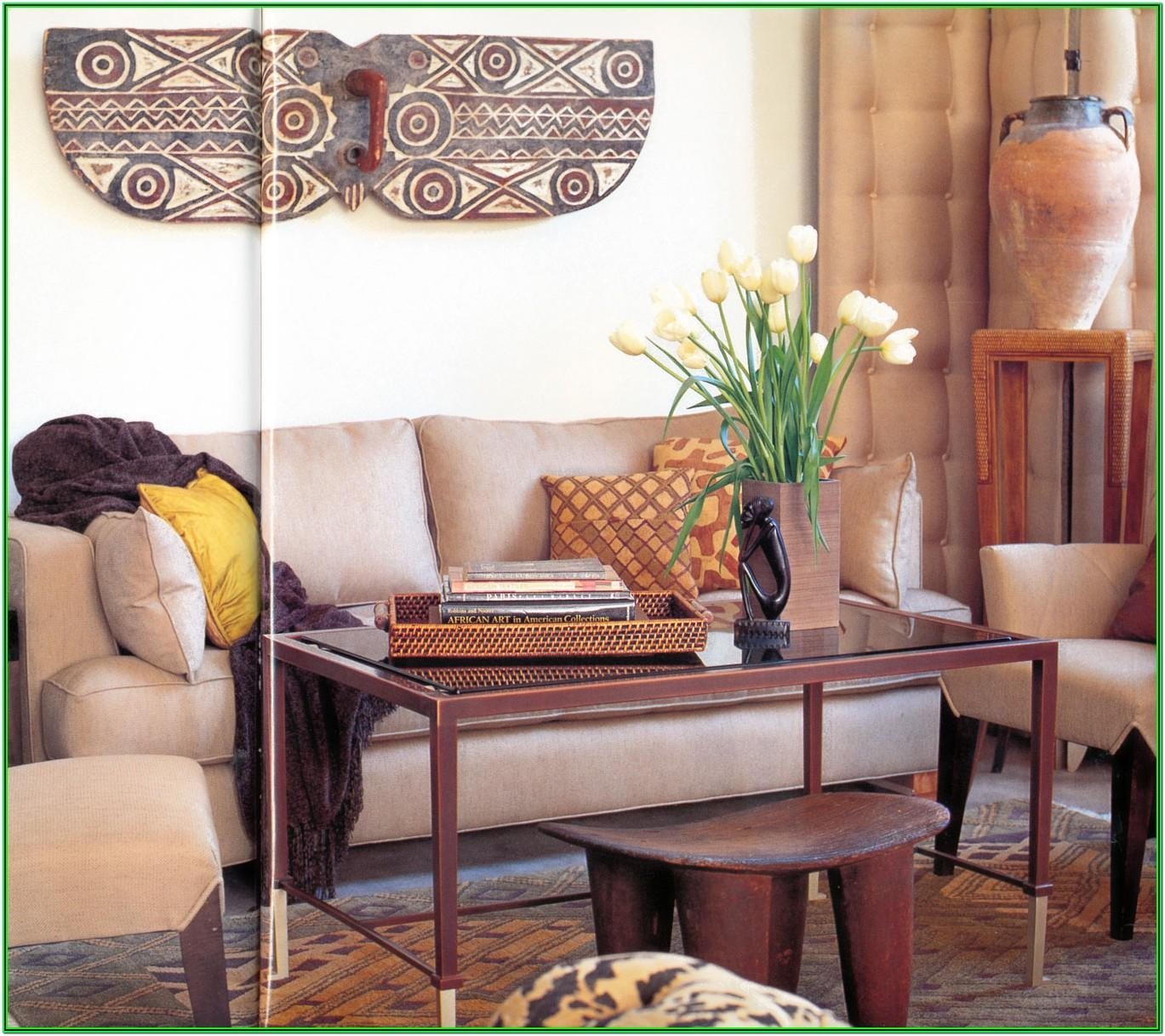 African Living Room Ideas