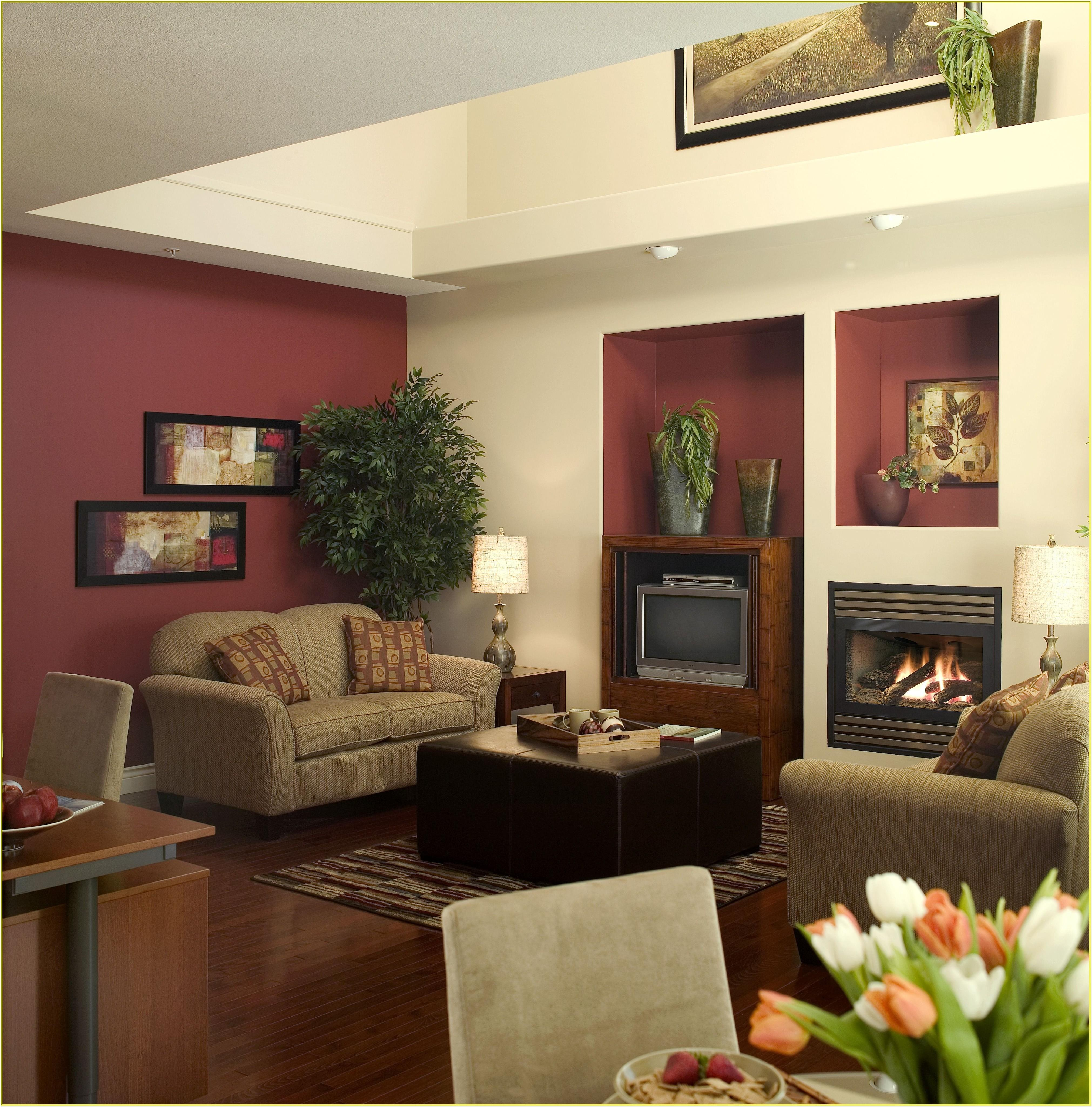 Beige And Burgundy Living Room Ideas